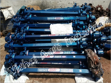 Tractor trolley Square Axle 75mm