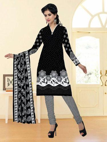 Black & Cotton Dress