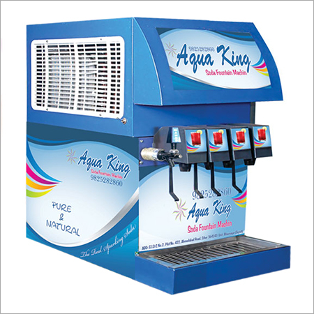 4 Flavor Fountain Soda Machine