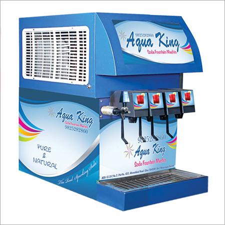 4 Flavor Fountain Soda Machine