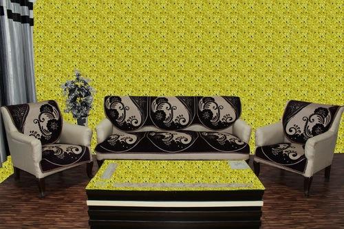 Chenille sofa cover treat