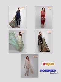 FEPIC (ROSEMEEN LUXURY) Straight Salwar Kameez Wholesale
