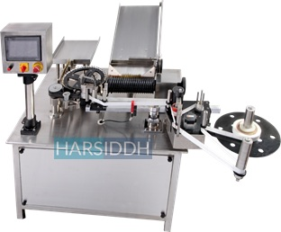 Glass Ampoule Sticker Labeling Machine