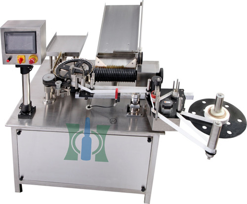 Sticker Labeling Machine For Ampoules