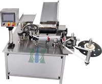 Vertical Rotary Ampoule Sticker Labeling Machine