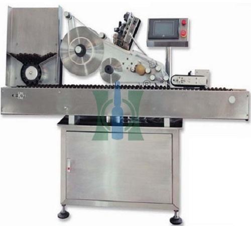 Linear Ampoule Sticker Labeling Machine