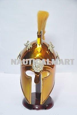 Greek Corinthian Helmet (LARP/SCA/Medieval /Roman Reenactment Costume Armor)