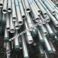 hot dipped galvanised pipes