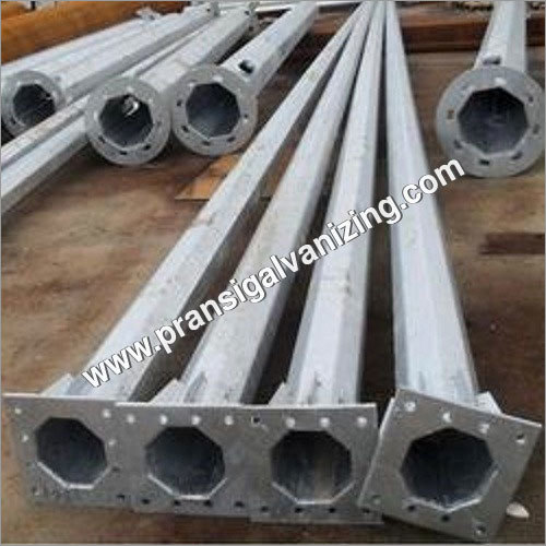hot dip galvanized pole