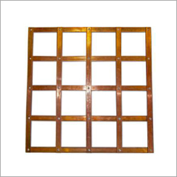 Lattice Copper Earth Mat