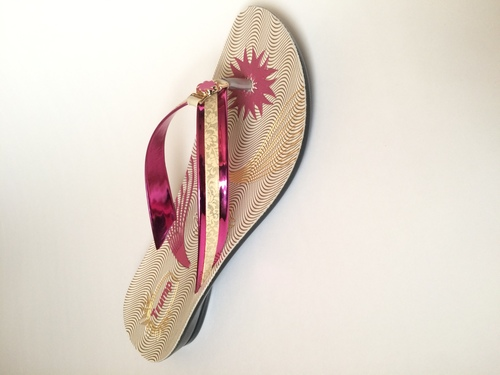 Ladies Pink Slipper