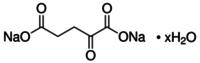 α-Ketoglutaric acid disodium salt hydrate