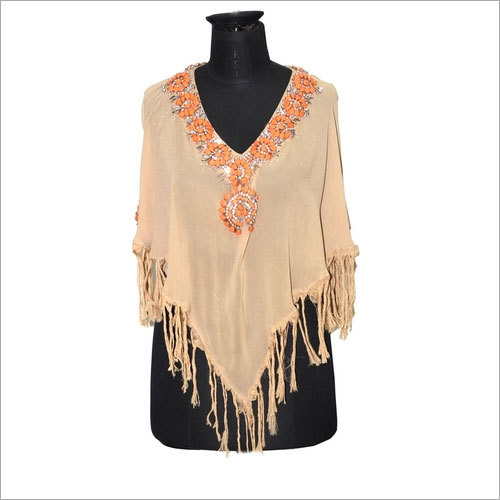 Fancy Poncho Tops