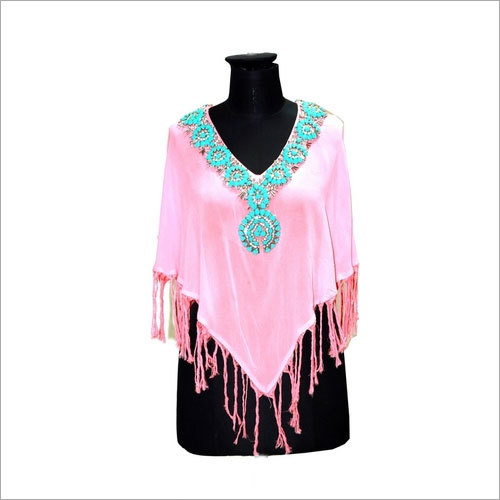 Ladies Poncho Tops
