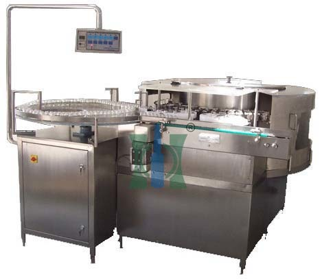 Rotary Vial Washing Machine For Parenterals