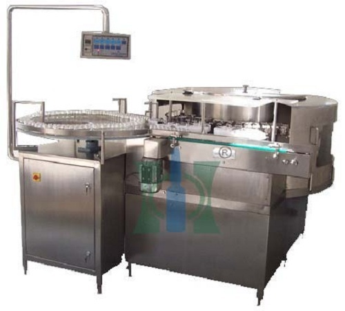Rotary Vial Washing Machine For Dry Powder Injection