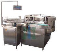 Rotary Vial Washing Machine For Liquid Injectables
