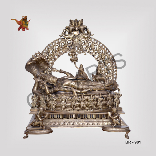 Bronze Vishnu