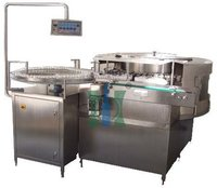 Rotary Vial Washing Machine For Amber Glass