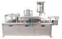 Servo Based Liquid Vial Filling Machine