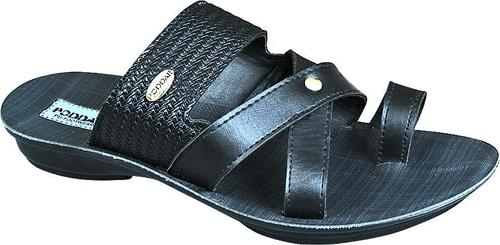 PU Black Slipper