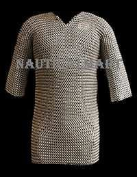 Medieval Viking Chainmail Shirt Armor Costume