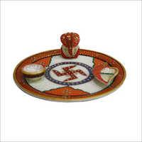 Decorative Pooja Thali