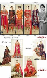 YOUR CHOICE (KARWA)Plazzo Style Salwar Kameez