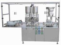 Single Wheel Dry Powder Filling Machine For Pharmaceuticals