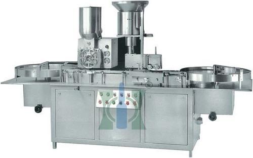 Compact Dry Powder Filling Machine