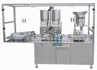 Double Wheel Sterile Dry Powder Filling Machine