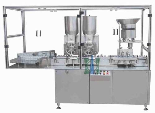 Double Wheel Sterile Powder Filler For Vials