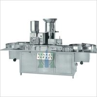 Double Wheel injectable Powder Filling Stoppering Machine