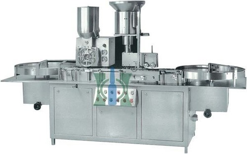 Double Wheel Injectable Dry Powder Filling Stoppering Machine