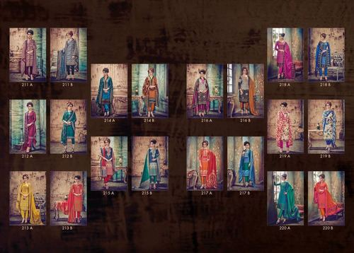 SHANZA Straight Salwar Kameez Wholesale