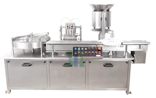 Four Stroke Liquid Vial Filling Machine