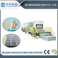 Automatic Egg Carton Making Machine