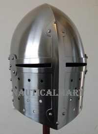 Medieval Sugar Loaf Armor Helmet