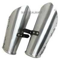 Cavalier Hinged Medieval Knightly Armor 16g Mild Steel Functional Bracers