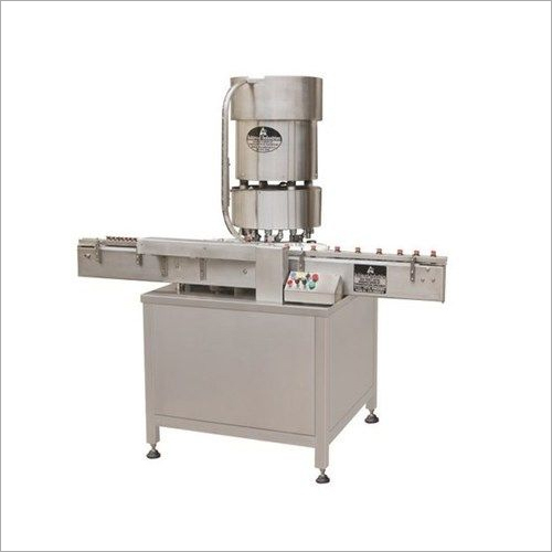 Automatic Alluminium Cap Sealing Machine