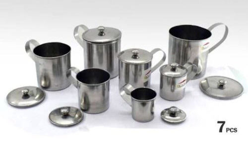 Stainless Steel Mug Set