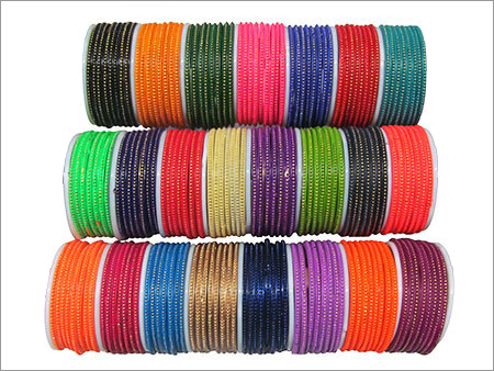 Colored Glass Bangles