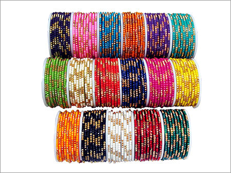 Glass Lac Bangles