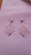 Sterling German Silver Earring