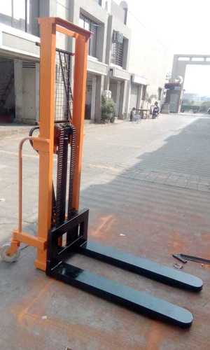 Hydraulic Double Mast Stacker