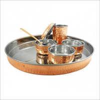 Stainless Steel Dinner Thali Set