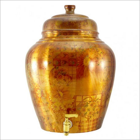 Copper Matka Water Pot