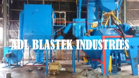 Round Bar Shot Blasting Machine