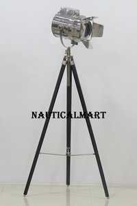 Modern Design Spotlight  Searchlight Tripod Floor Lamp For Living Room