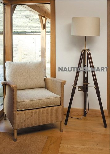 Contemporary Design Tripod Floor Lamp For Living Room
